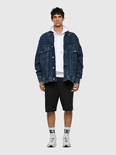 Diesel - P-KURL, Black - Shorts - Image 5