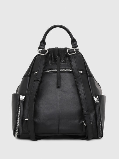 Diesel - LE-MHONIC, Black - Backpacks - Image 2