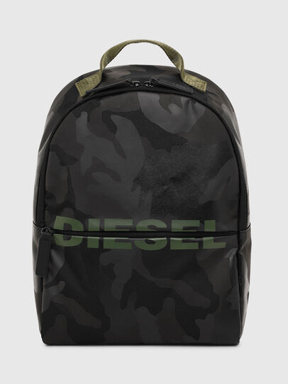 Diesel - BOLD BACKPACK, Black/Green - Bags - Image 1
