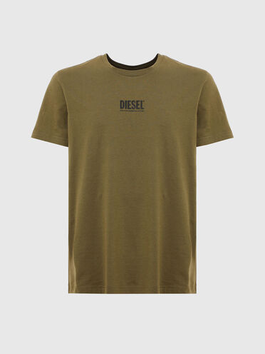 T-shirt with small logo print