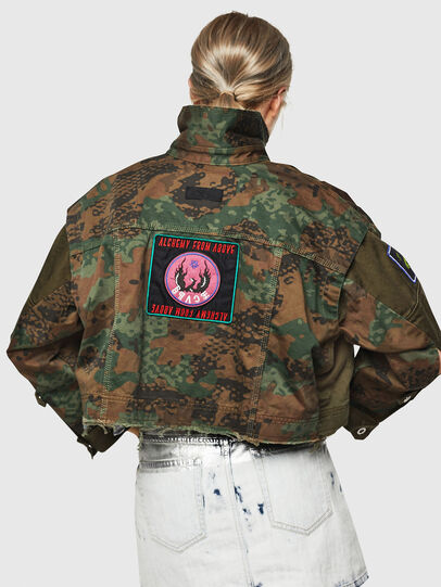 Diesel - G-ANAPAY, Military Green - Jackets - Image 2