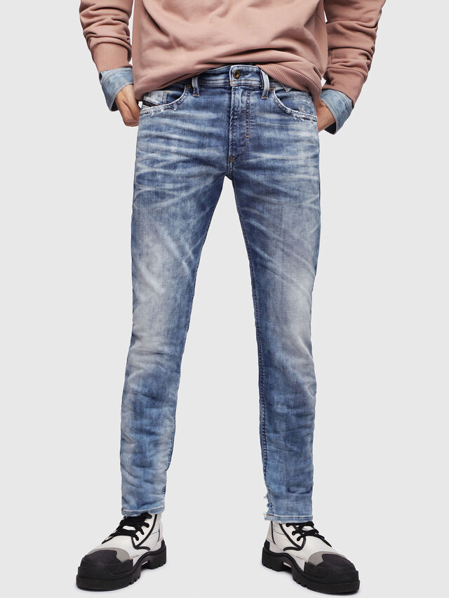 Diesel - Thommer JoggJeans 087AC, Medium blue - Jeans - Image 1