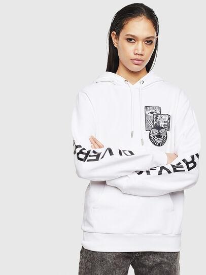 Diesel - S-GIRK-HOOD-S4, White - Sweaters - Image 2