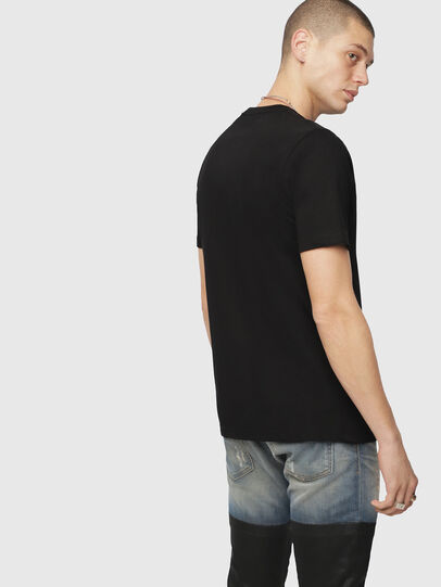 Diesel - T-JUST-DIVISION, Black - T-Shirts - Image 2