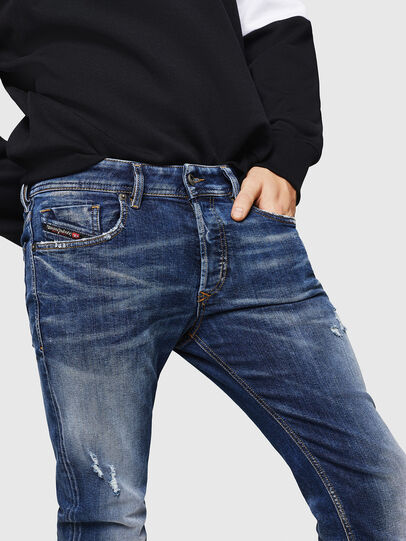 Diesel - Sleenker 069HQ, Medium blue - Jeans - Image 3