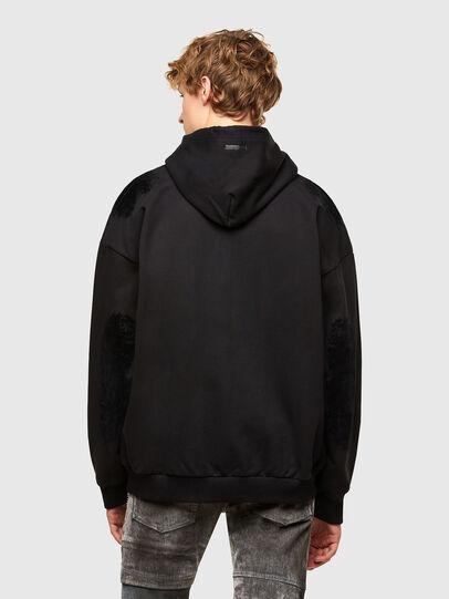 Diesel - S-HENON-ZIP, Black - Sweaters - Image 2