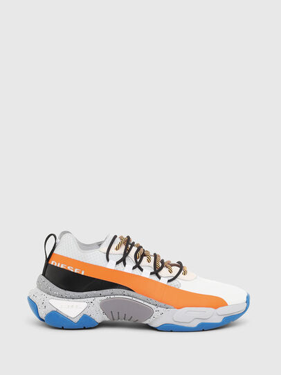 Diesel - S-KIPPER BAND, White/Orange - Sneakers - Image 1