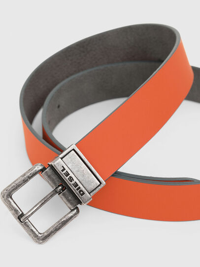 Diesel - B-DOUBLEX, Grey - Belts - Image 3
