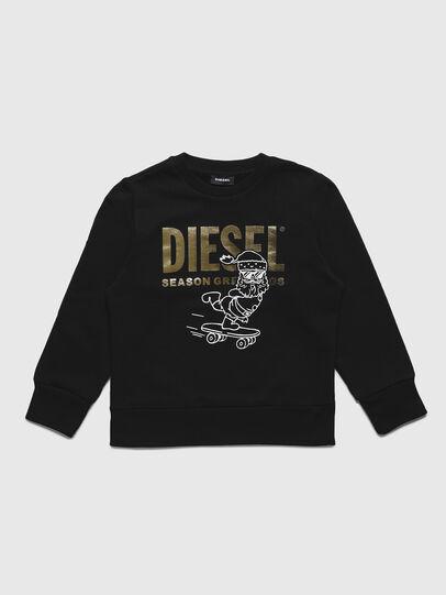 Diesel - SCLAUS-TSE, Black - Sweaters - Image 1
