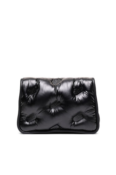 Logo-quilted cross-body