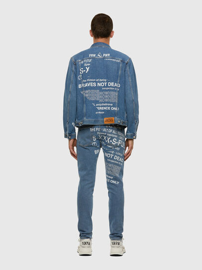 Diesel - D-Strukt 009DX, Light Blue - Jeans - Image 8