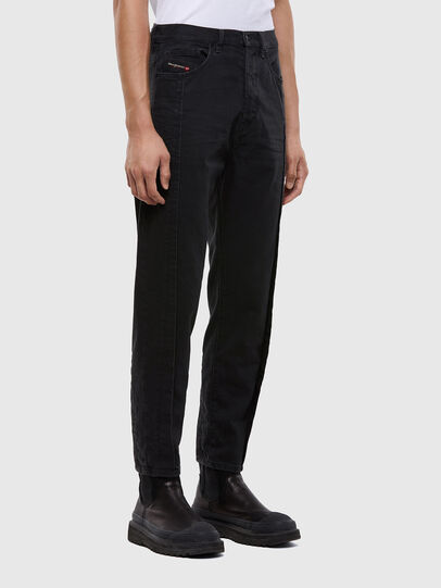 Diesel - D-Vider 009LA, Black/Dark grey - Jeans - Image 4