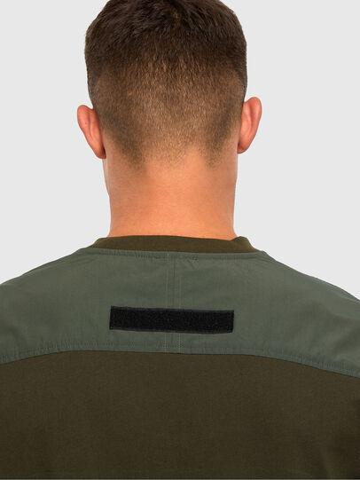 Diesel - T-ARMI, Olive Green - T-Shirts - Image 3