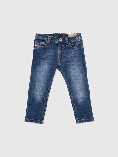 Diesel - SLEENKER-B-N, Medium blue - Jeans - Image 1