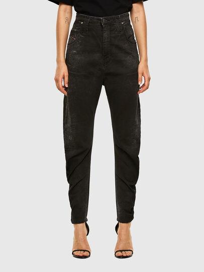 Diesel - D-Plata JoggJeans 009DS, Black/Dark grey - Jeans - Image 1