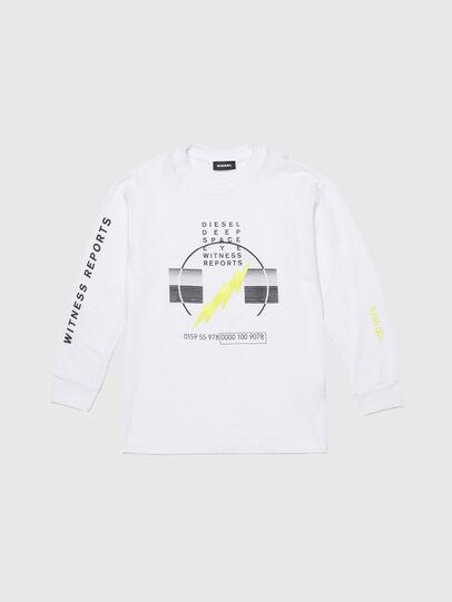 Diesel - TJUSTLSJ3 OVER, White - T-shirts and Tops - Image 1