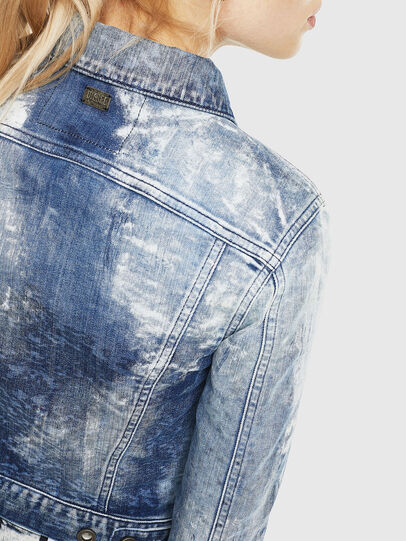 Diesel - D-LIMMY-T, Medium blue - Denim Jackets - Image 3