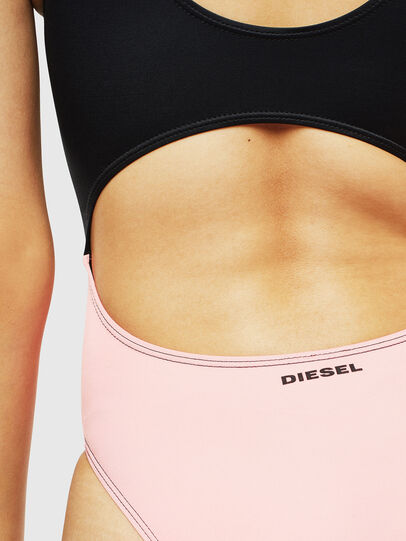 Diesel - BFSW-COURTNEY, Black/Pink - Swimsuits - Image 5