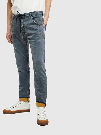 Diesel - Krooley JoggJeans 069LT, Dark Blue - Jeans - Image 1