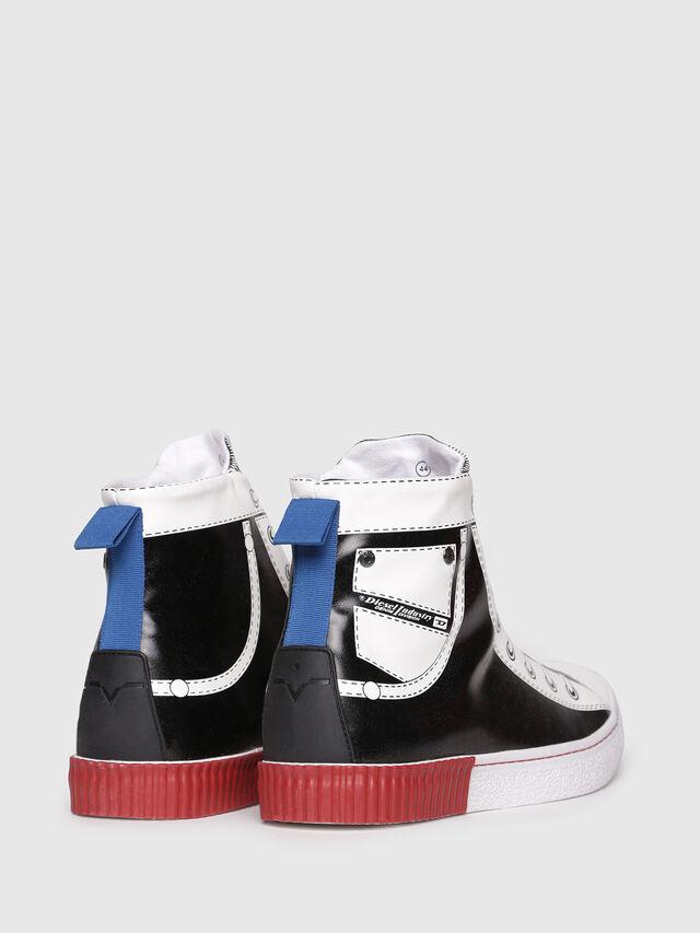 Diesel - S-DIESEL IMAGINEE MID, Black/White - Sneakers - Image 3
