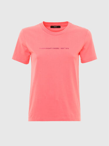 Copyright logo T-shirt in cotton