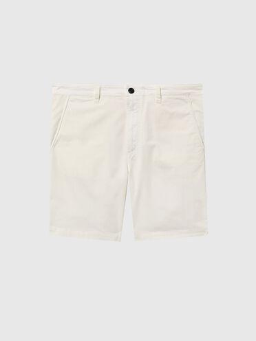 Garment-dyed chino shorts