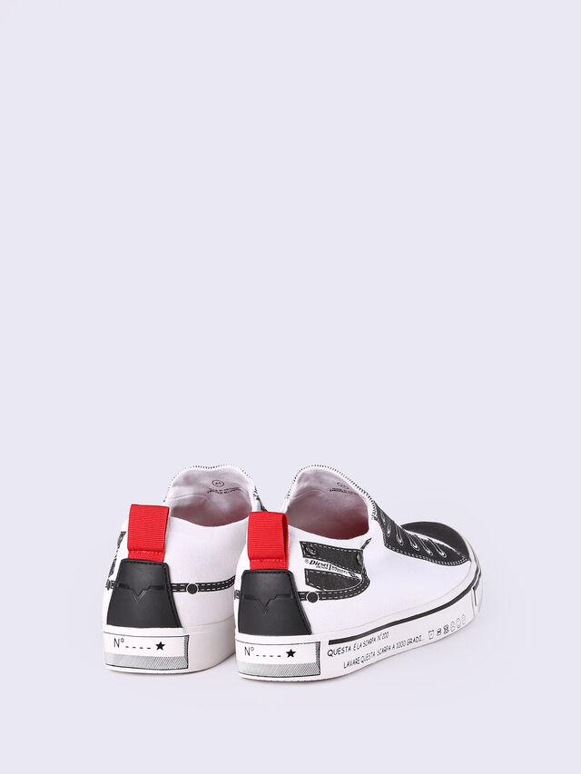 S-DIESEL IMAGINEE LOW SLIP-ON, White