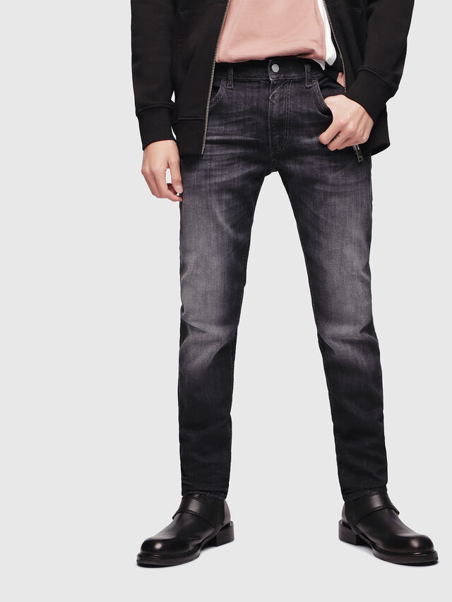 Diesel - Thommer 087AM, Black/Dark grey - Jeans - Image 1