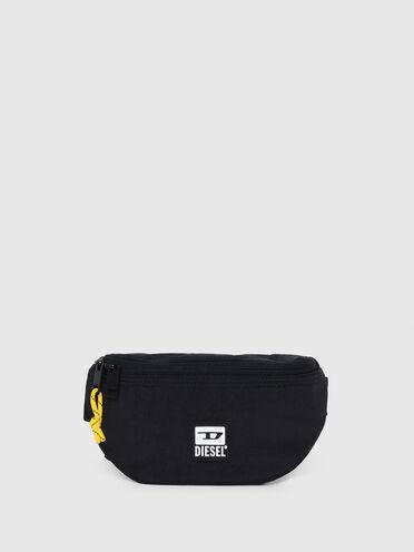 Belt bag in washed-effect nylon