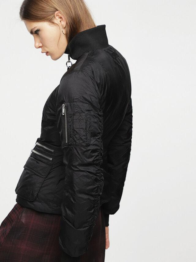 Diesel - W-BLANKYT, Black - Winter Jackets - Image 5