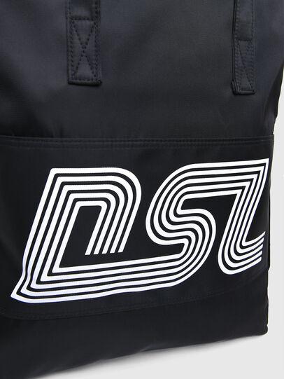 Diesel - BBAG-TOTE, Black - Beachwear accessories - Image 5