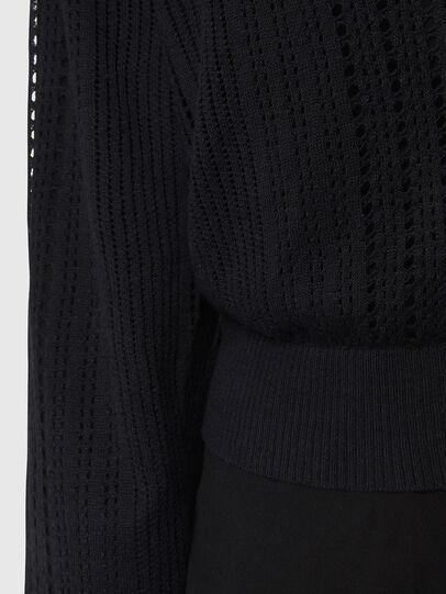 Diesel - M-ZELDA, Black - Knitwear - Image 4