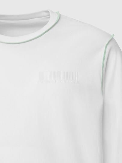 Diesel - T-JUSEAM-LS, White - T-Shirts - Image 4
