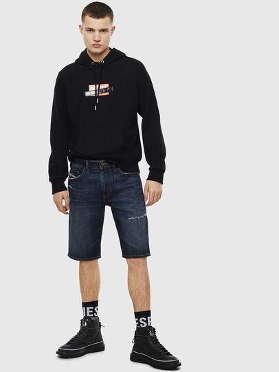 Diesel - THOSHORT, Dark Blue - Shorts - Image 6