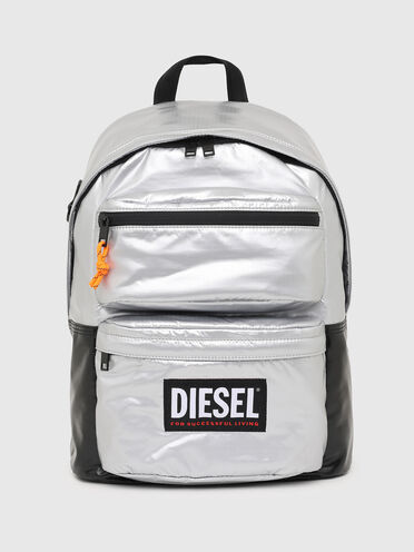 Backpack in coated ripstop