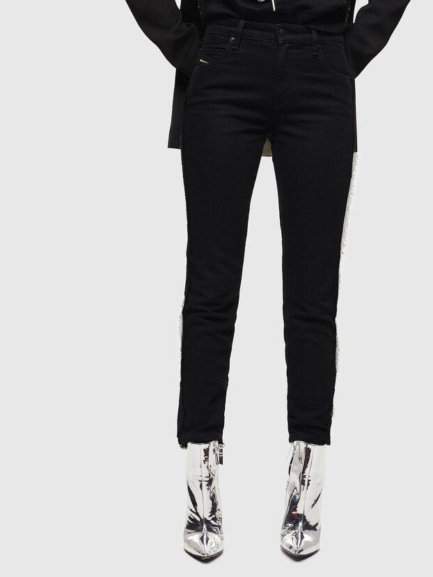 Babhila 0NAZH, Black/Dark grey - Jeans