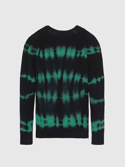 Diesel - K-TONI, Black/Green - Knitwear - Image 2
