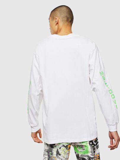 Diesel - T-GLYNIS-J1, White - T-Shirts - Image 3