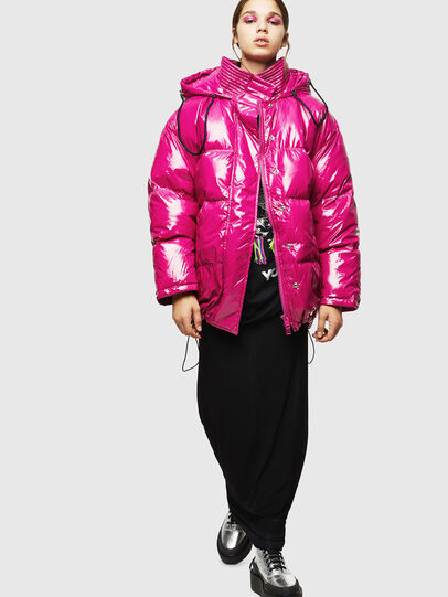 Diesel - W-ALLA, Pink Fluo - Winter Jackets - Image 6