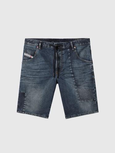 Shorts in JoggJeans patchwork