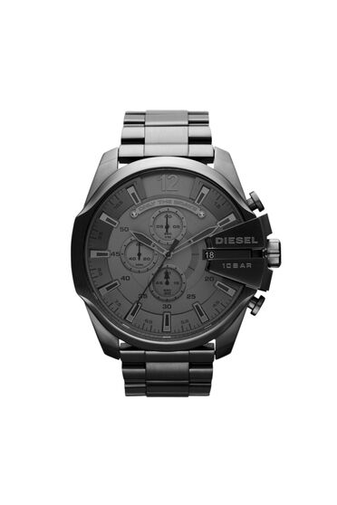 Watch with black plating