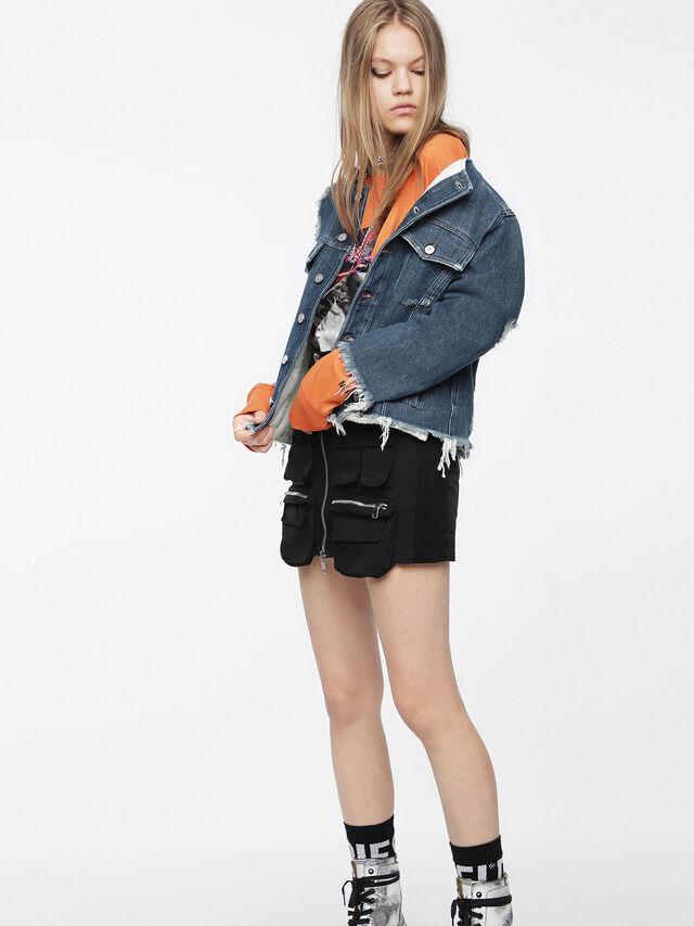 Diesel - DE-PENNY, Blue Jeans - Denim Jackets - Image 4