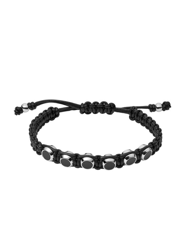 Diesel - BRACELET DX1072, Black - Bracelets - Image 1