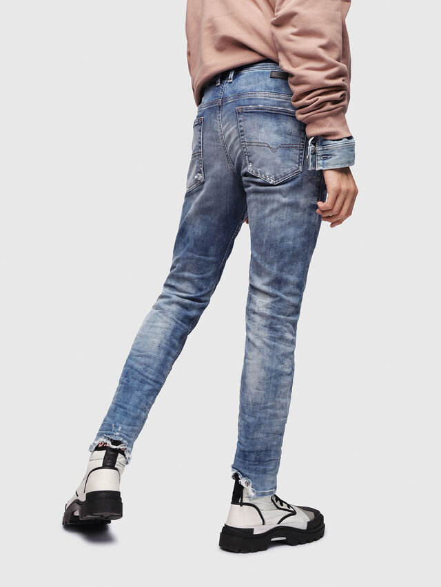 Diesel - Thommer JoggJeans 087AC, Medium blue - Jeans - Image 2