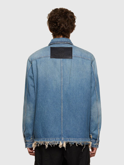 Diesel - D-SERLE, Medium blue - Denim Jackets - Image 2