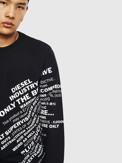 Diesel - S-GIRK-S1, Black - Sweaters - Image 5