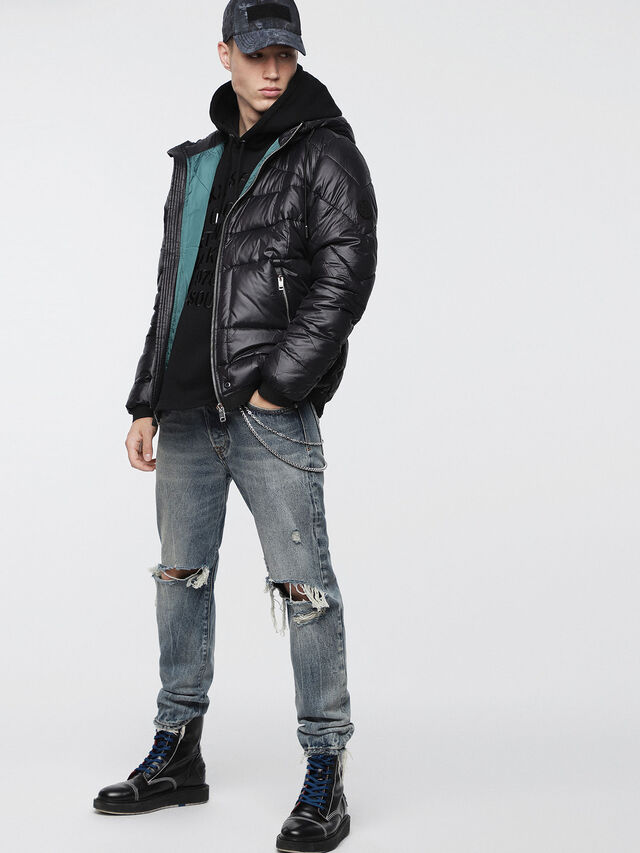 Diesel - W-GARRETT, Black - Winter Jackets - Image 6