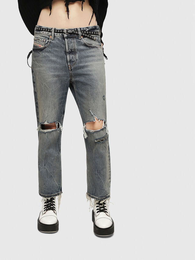 Diesel - Aryel 084ZS, Light Blue - Jeans - Image 1