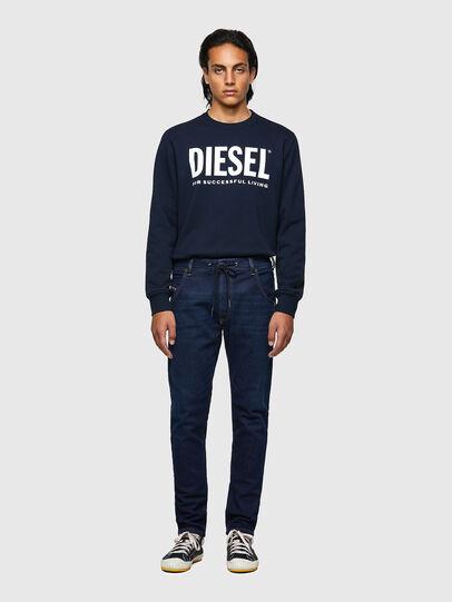 Diesel - Krooley JoggJeans® Z69VI, Dark Blue - Jeans - Image 5
