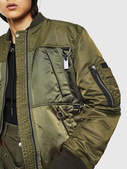 Diesel - G-MARTEN-FL, Military Green - Jackets - Image 7